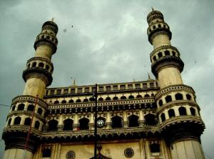 Charminar Seedha view