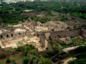 Golconda top view